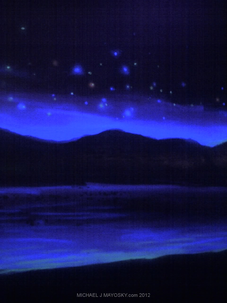 Black light murals for Mural lighting