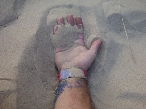 My Sand in Hand