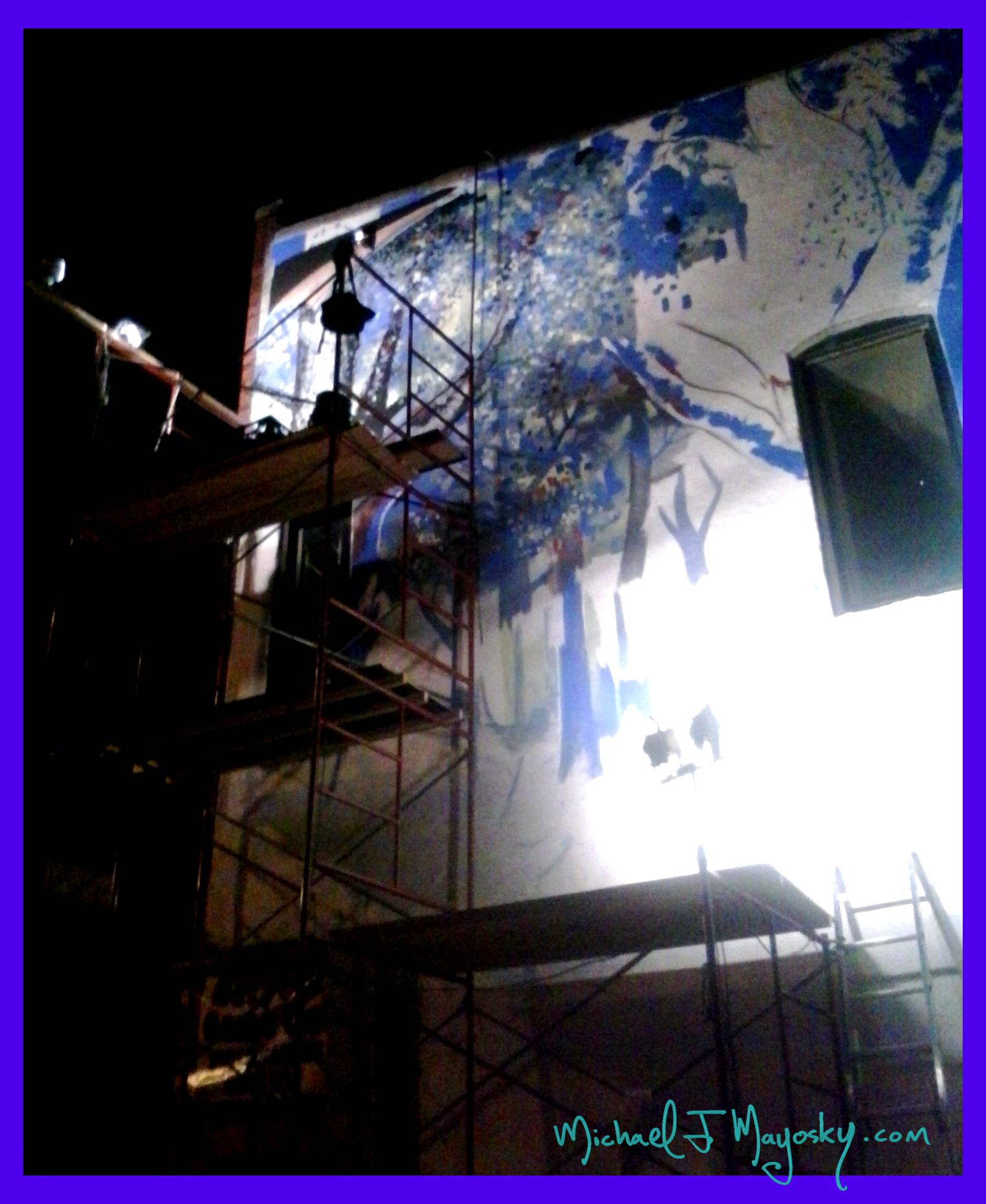 Paint By Number Wall Murals The Lincoln Wall Michael J Mayosky