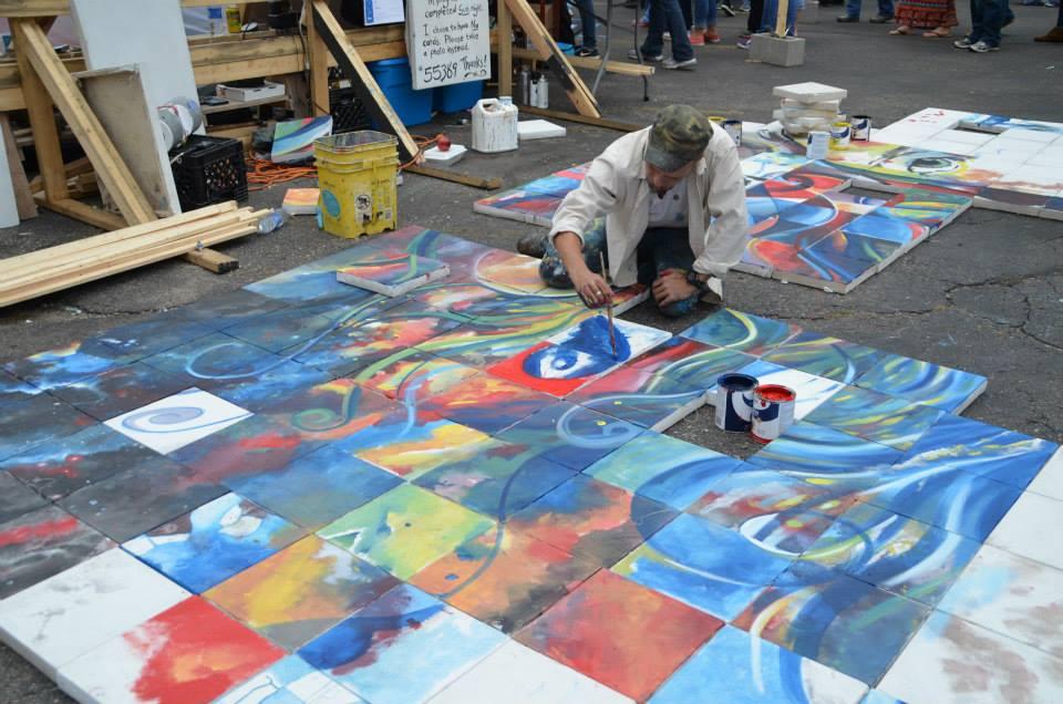 Michael Painitng at ArtPrize 2013